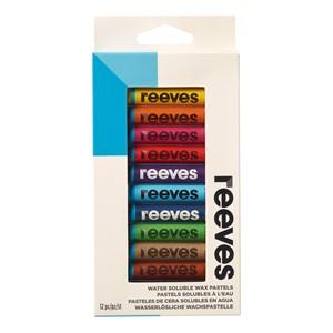 Reeves Pastels Water Soluble Wax Pack 12