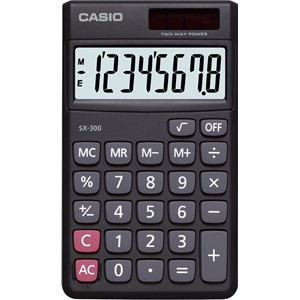 Casio Handheld Calculator SX300