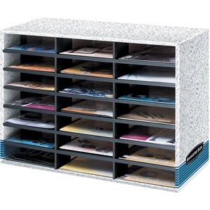 Bankers Box Literature Sorter 21 Compartment