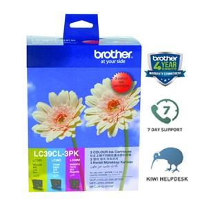 Brother Ink Cartridge LC39CL3PK CMY Pack