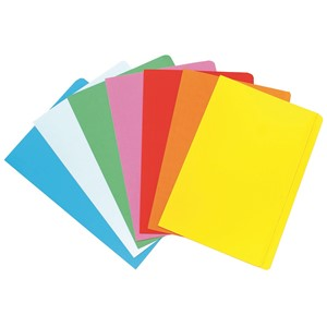 Marbig Manilla Folder Foolscap Assorted, Pack of 20