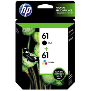 HP Ink Cartridge CR311AA 61 Black & Tri-Colour