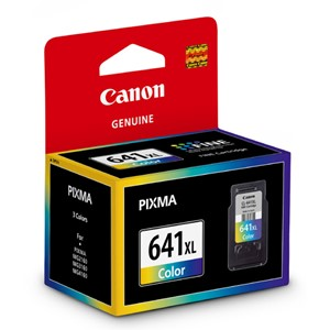 Canon Ink Cartridge CL641XL Tri-Colour High Capacity