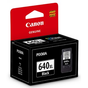 Canon Ink Cartridge PG640XL Black High Capacity