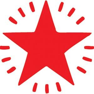 XStamper VX-E 11365 Twinkle Star Red