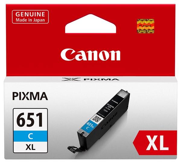 Canon Ink Cartridge CLI651XLCOCN Cyan Chromalife - pr_427577