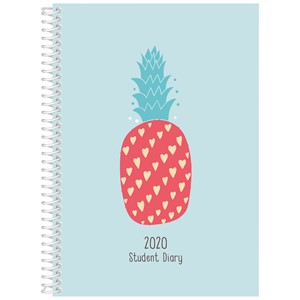 Collins 2020 Student Diary A53 Summer Fruit