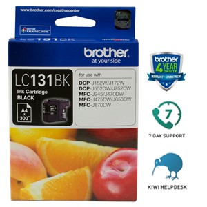 Brother Ink Cartridge LC131BK Black