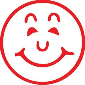 XStamper VX-E 11303 Smiley Face Red