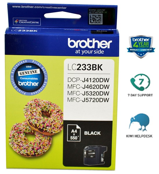 Brother LC233BK Ink Cartridge Black - pr_427622