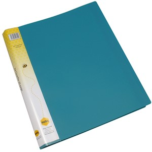 Marbig Display Book Insert Spine A4 20 Pockets Green