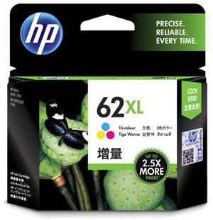 HP Ink Cartridge C2P07AA 62XL Tri-Color High Capacity - pr_1702541