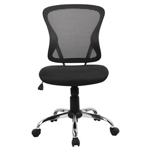 Brenton Mid Back Mesh Chair Black
