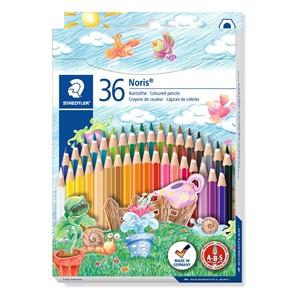 Staedtler Noris Club Coloured Pencil 36pk