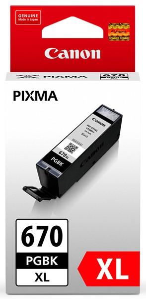 Canon Ink PGI670XLBK Black High Yield - pr_1702245