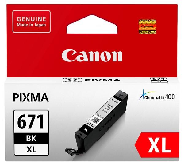 Canon Ink CLI671XLBK Black High Yield - pr_1702215
