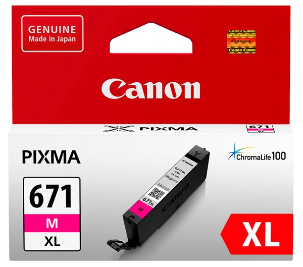 Canon Ink CLI671XLM Magenta High Yield - pr_1702609