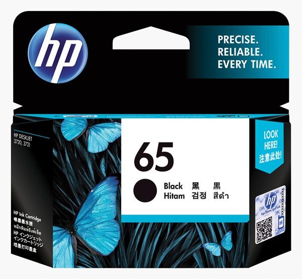 HP Ink Cartridge N9K02AA 65 Black - pr_1702261