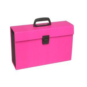 Colourhide My Trusty Expanding File 19 Pocket Pink