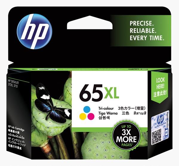 HP Ink Cartridge N9K03AA 65XL Tri-Colour High Capacity - pr_1702346