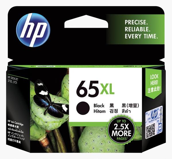 HP Ink Cartridge N9K04AA 65XL Black High Capacity - pr_1702300