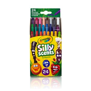 Crayola Silly Scents Mini Twistables Crayons 24 Pack