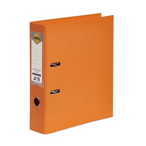 Marbig PE Lever Arch File A4 Orange