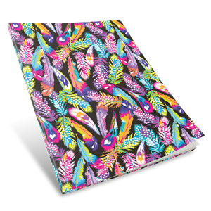 EZ Cover 1B8 Book Sleeve Feathers