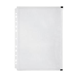 Marbig Zip Binder Wallet A4 Clear