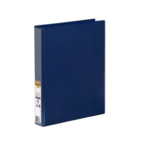 Marbig Clear View Insert Binder A4 25mm Blue