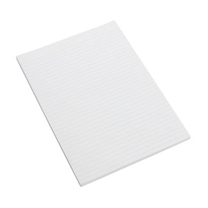Marbig Topless Writing Pad Ruled A4 100 Leaf