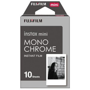 Fujifilm Instax Mini Film Monochrome 10 Pack