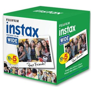 Fujifilm Instax Wide Film 50 Pack