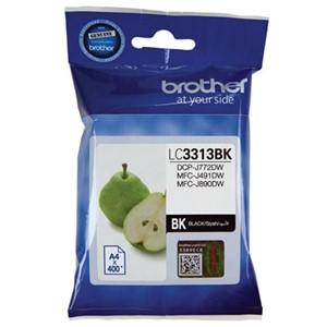 Brother Ink Cartridge LC3313Bk Black