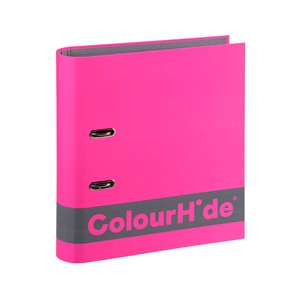 Colourhide Silky Touch Lever Arch A4 70mm Pink