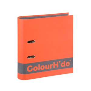 Colourhide Silky Touch Lever Arch A4 70mm Orange