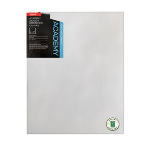 """Jasart Academy Stretched Canvas 1 1/2"""" Thick Edge 16x20"""""""