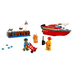 LEGO City - Dock Side Fire