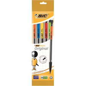 Bicmatic Original Mechanical Pencil Pack 5