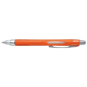 Uni Pen Jetstream 250 Series Retractable Black Orange Barrel