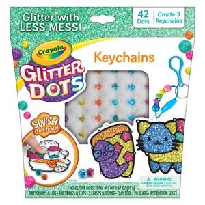 Crayola Glitter Dots - Keychains