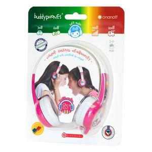 Buddyphones Discover Kids Headphones - Pink