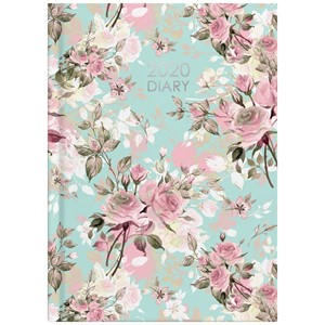 Collins 2020 Diary A51 Delicate Blue