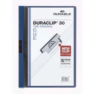 Clip Folder Duraclip 30 - Blue