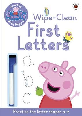 Peppa Pig: Practise with Peppa: Wipe-Clean First Letters - pr_323062
