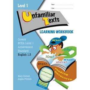 Lwb Level 1 Unfamiliar Texts 1.3 Learning Workbook