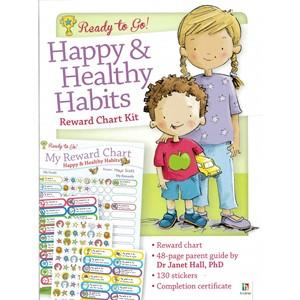 Ready to Go Reward Chart: Happy & Healthy Habits