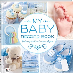 Baby Record Book - Blue