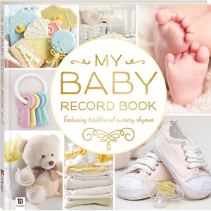 Baby Record Book - Yellow