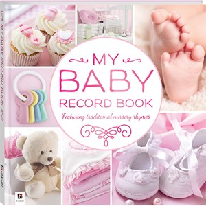 Baby Record Book - Pink